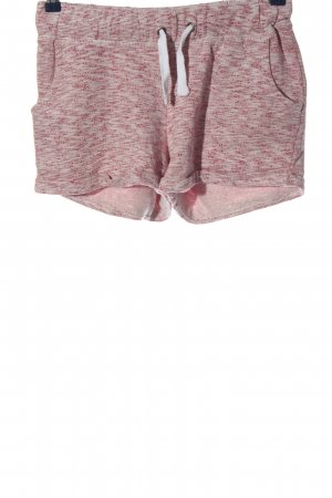 Chiemsee Hot Pants pink-light grey flecked casual look