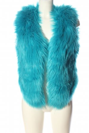 Chiemsee Fake Fur Vest blue-red casual look