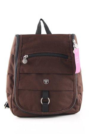 Chiemsee Zaino laptop marrone stile casual