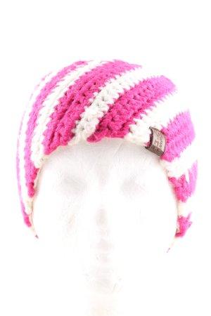 Chiemsee Oorwarmers roze-wit gestreept patroon casual uitstraling