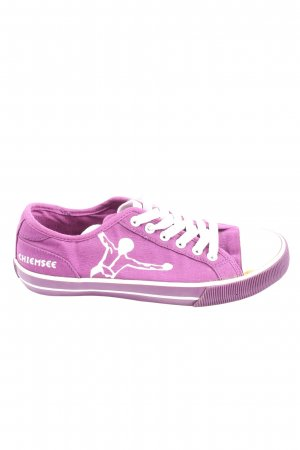 Chiemsee Lace-Up Sneaker lilac casual look
