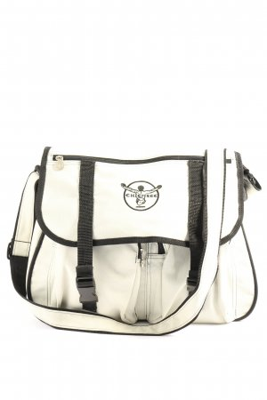 Chiemsee Shoulder Bag white-black casual look