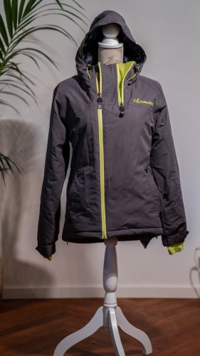 Chiemsee Outdoor Jacket dark grey-pale green