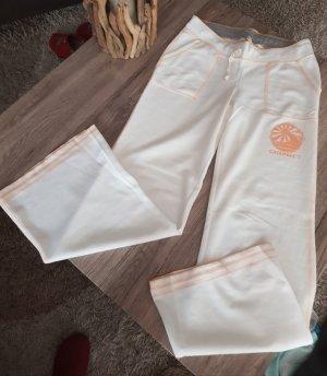 Chiemsee pantalonera blanco puro-naranja dorado