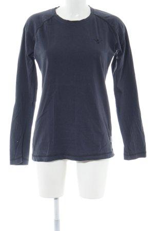 Chiemsee Sweatshirt blau Motivdruck Casual-Look