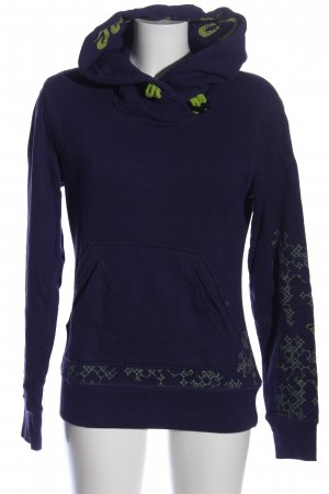 Chiemsee Sweat Shirt blue-khaki graphic pattern casual look