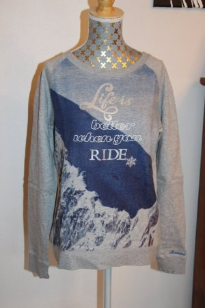 """Chiemsee Sweatshirt Gr. S """"Life is better when you ride"""""""