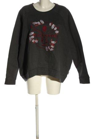 Chiemsee Bluza dresowa Nadruk z motywem W stylu casual