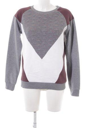 Chiemsee Sweatshirt Steppmuster Casual-Look