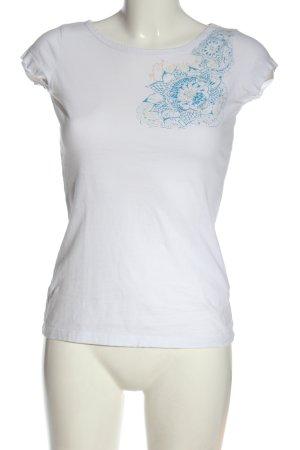 Chiemsee Camiseta blanco estampado temático look casual