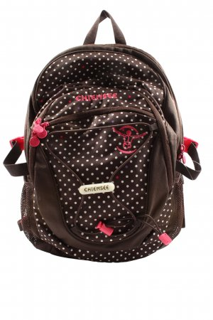 Chiemsee Daypack brown spot pattern athletic style