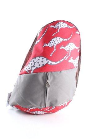 Chiemsee Torba na ramię czerwony-jasnoszary Nadruk z motywem W stylu casual