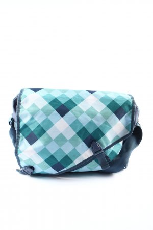 Chiemsee Weekender Bag blue-white check pattern casual look
