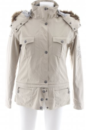 Chiemsee Winter Jacket beige-silver-colored casual look