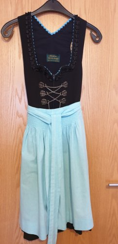 Dirndl light blue-black