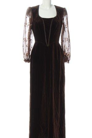 Chiemseer Dirndl & Tracht Dirndl brown-bronze-colored allover print casual look