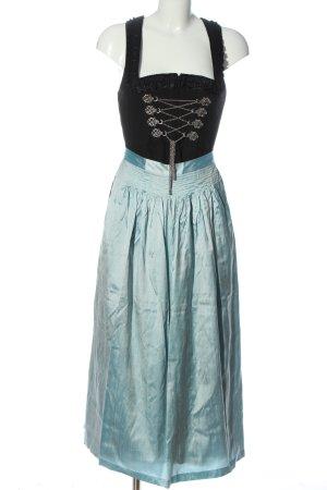 Chiemseer Dirndl & Tracht Vestido Dirndl negro-azul elegante