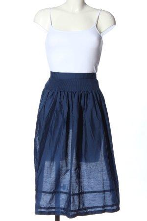 Chiemseer Dirndl & Tracht Tradycyjny fartuch  niebieski-biały Prosty styl