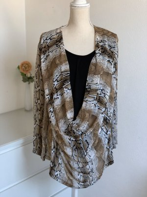 Chiffon Bluse in Zweiteilerlook