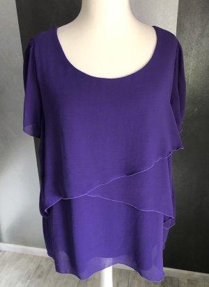 Canda Short Sleeved Blouse lilac