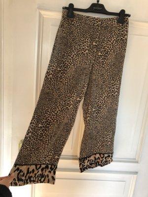 Twinset Pantalone di lino multicolore