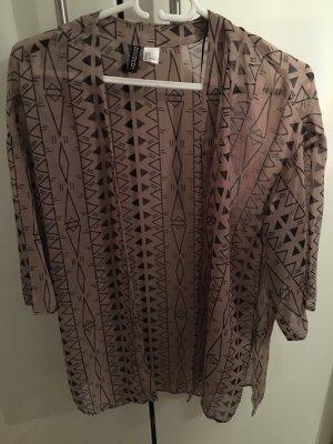 H&M Kimono color oro rosa-nero