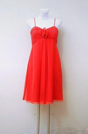 Vera Mont Chiffon Dress red