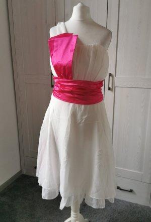 Chiffon Dress white