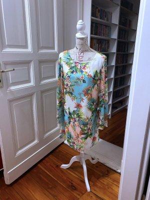 Chiffon Kleid Gr. 38 Bodyflirt bunt Hängerchen wie Neu