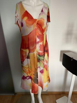 Chiffon Kleid MIDI von Dresses unlimited Gr 42 XL