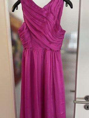 Hennes Collection by H&M Sukienka gorsetowa różowy Poliester
