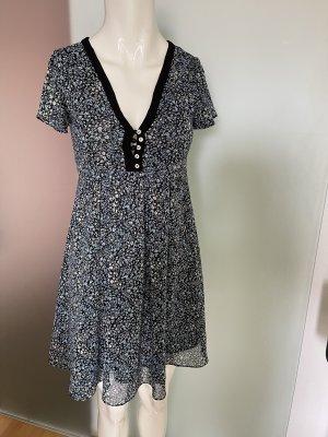 Chiffon Kleid von Zara Gr 34 XS Blumen  Muster