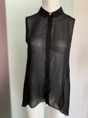 Colletto camicia nero-oro