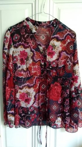 Mexx Tunic Blouse red-blue