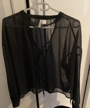 H&M Divided Tunic Blouse black