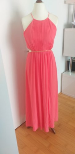 Jake*s Chiffon Dress salmon