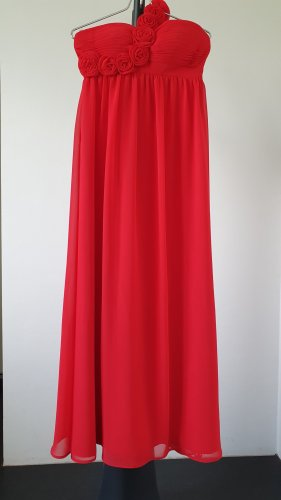 Chiffon Dress red