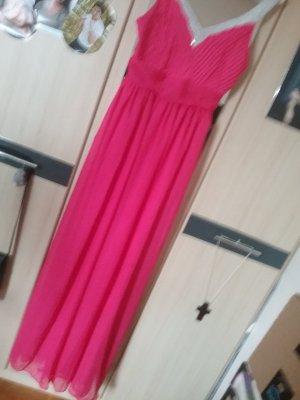 Robe de soirée rose