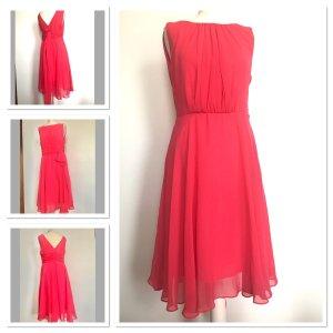 Phase eight Szyfonowa sukienka magenta