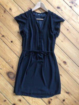 Szyfonowa sukienka czarny