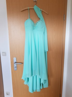 Fashion New York Vestido mullet menta