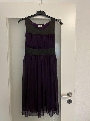 Szyfonowa sukienka fiolet