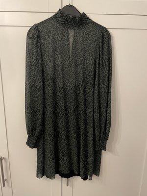 SassyClassy Chiffon Dress black-khaki
