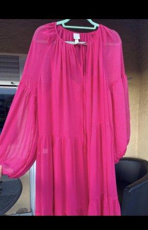 Chiffonkleid/Sommerkleid pink