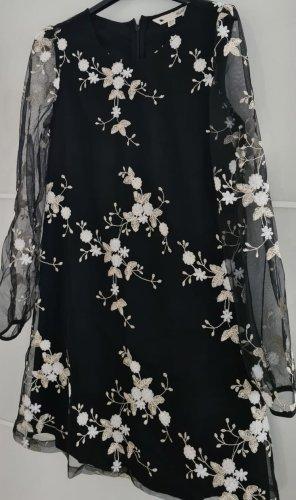Yumi Chiffon jurk veelkleurig