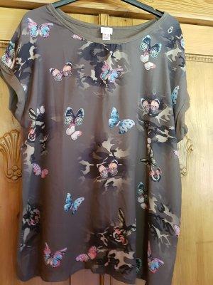 Alba Moda T-shirt ciemnozielony