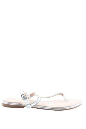 Chika10 Sandalias Dianette blanco look casual