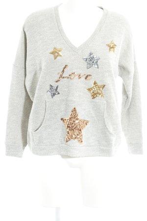Chill Bang Bang Sweter z dekoltem w kształcie litery V Wielokolorowy