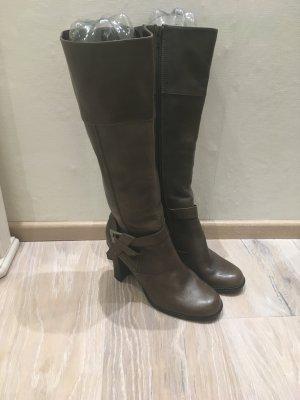 Chillany Heine Stiefel Boot grau Leder Gr. 38