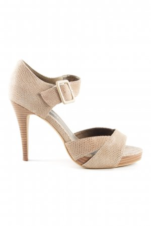 Chillany High Heels creme Business-Look